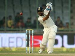 Photo : Delhi Test: Ajinkya Rahane Puts India on Top