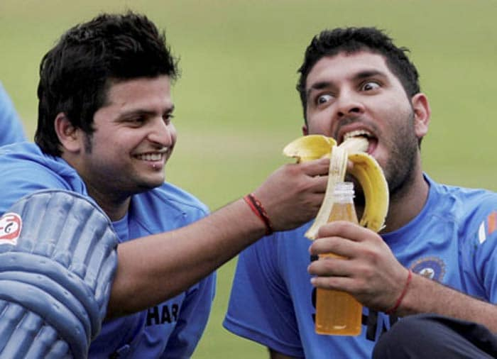 From Muradnagar in Ghaziabad, Raina has a jovial character and numerous snaps of him from matches and elsewhere can vouch for the same.