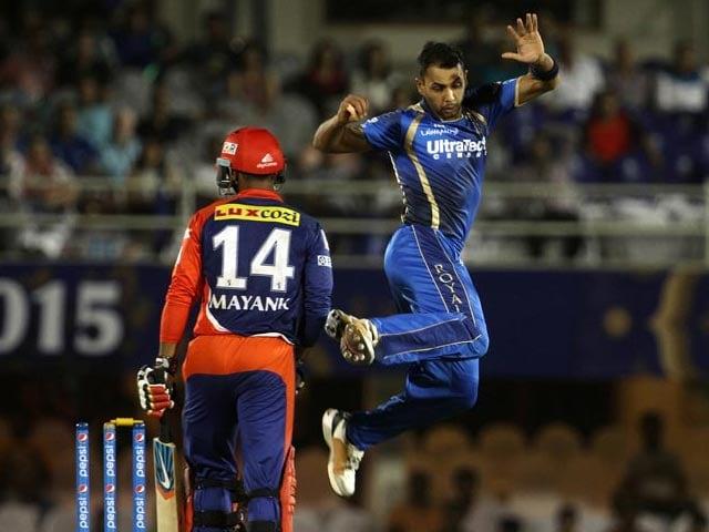 IPL 2015: Rajasthan Outshine Delhi by 14 Runs