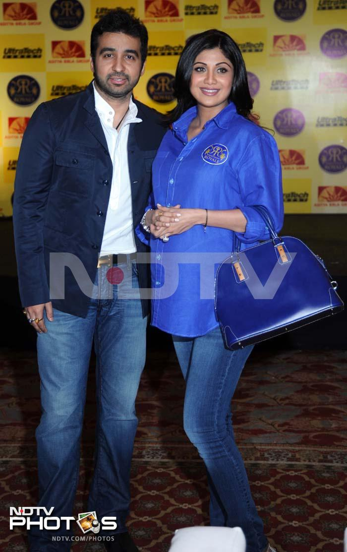 Shilpa attended the event with her husband Raj Kundra.