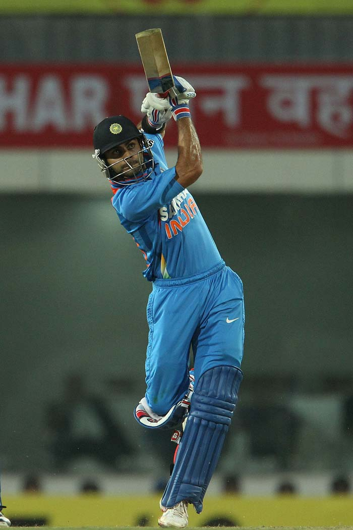 Kohli went on to complete his fifty and take his team through, by 7 wickets. (BCCI image)