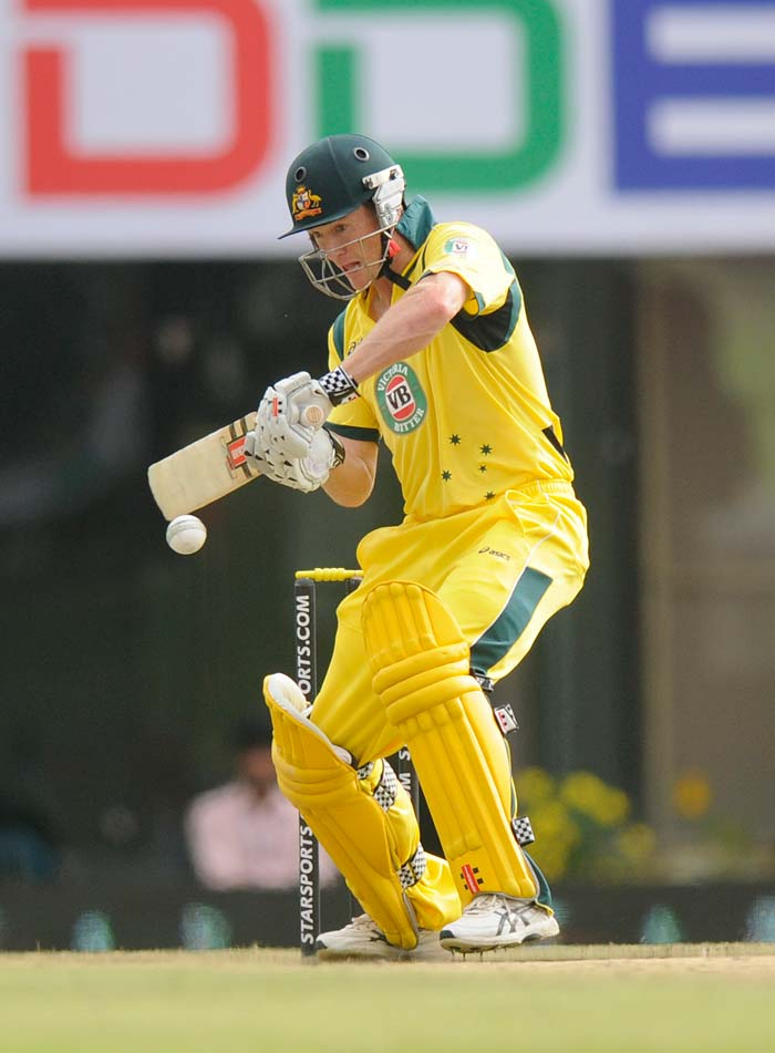 But George Bailey was the star once again, top-scoring for Australia with 98. Surely he deserves an Ashes call-up! (BCCI image)