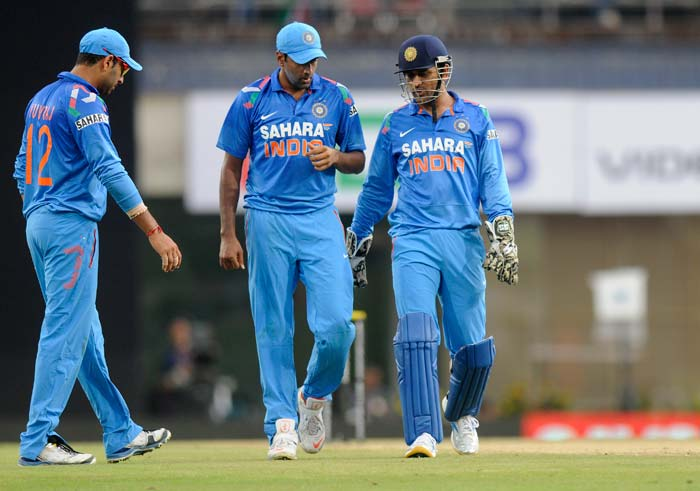 The Indians dropped five catches in the field, including Bailey for a duck, as Australia posted 295/8 in their 50 overs. (BCCI image)
