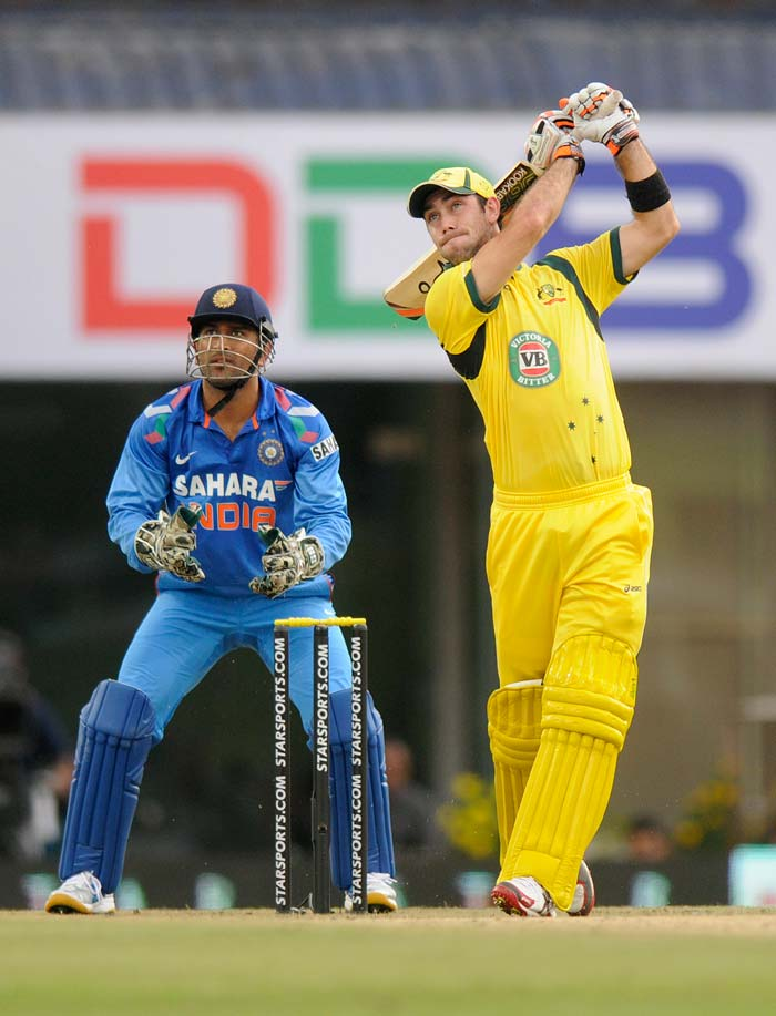 Glenn Maxwell was sensational too, notching a career-best 92 and was involved in a record 136-ball 153-run stand with his skipper. (BCCI image)