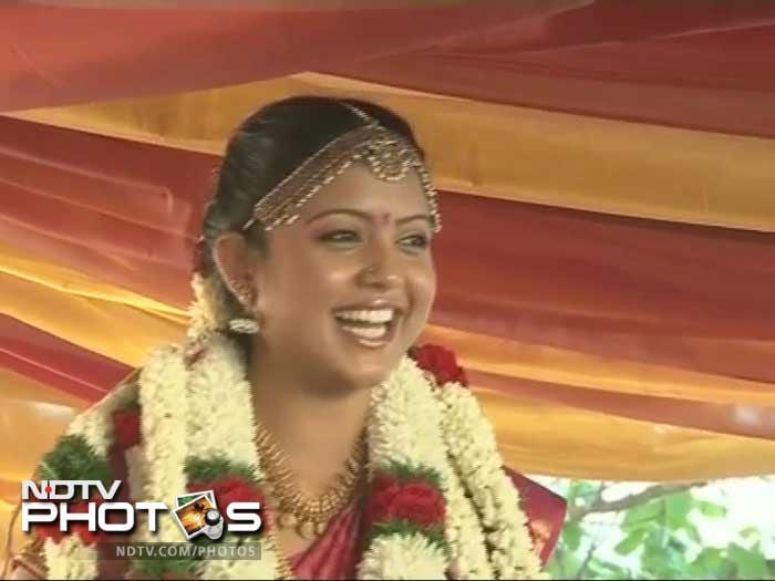 The bride, Preethi Narayanan, is Ashwin's childhood friend. The two reportedly got engaged during IPL 2011.