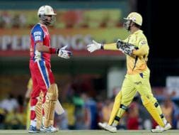 Photo : Bangalore defeat Chennai to stay alive in IPL