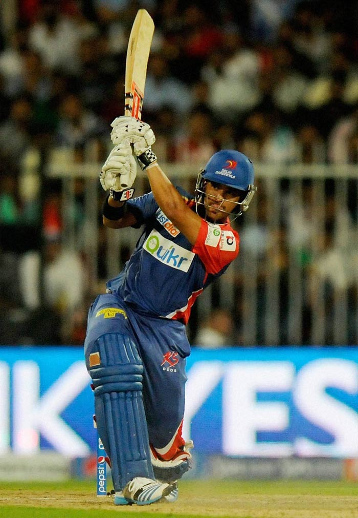 Duminy hit 67* off 48 to blunt RCB's challenge. His innings had four fours and three sixes. (BCCI image)