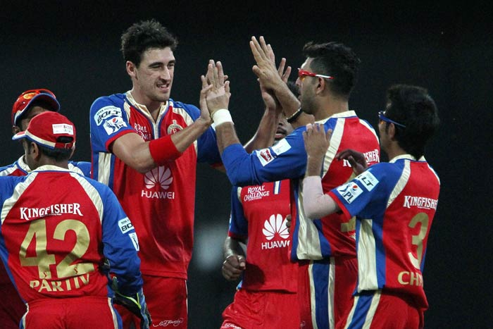 RCB dominated from the start after electing to bowl against Delhi. (BCCI image)