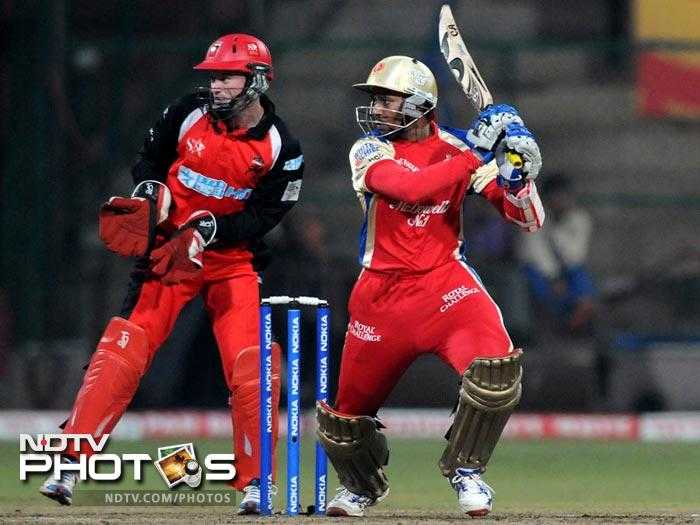 Opening the innings for the Challengers, Tillakratne Dilshan can blast the bowling from early on. If he and opening partner Chris Gayle fire in tandem, the opposition can be sure of facing a really bad day.