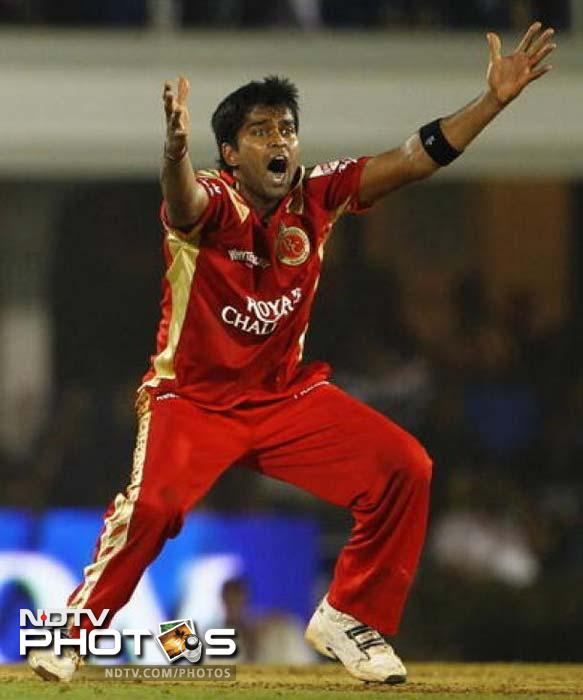He first came into the limelight after playing for Bangalore in the earlier seasons of IPL. Now, Vinay Kumar is back in the RCB team after spending a season with the now defunct-Kochi Tuskers Kerala. RCB paid big bucks for the India bowler - $1 million to be precise. He did well for India in the limited overs format in Australia and will hope to take that forward here.