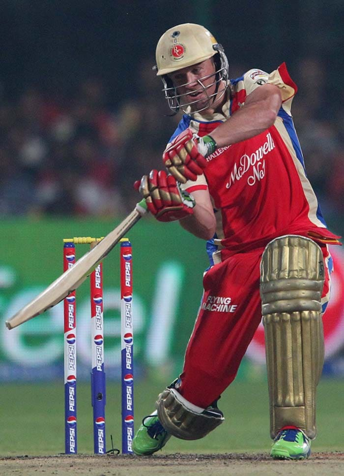 AB de Villiers, starred in the Super Over for the RCB, scoring two sixes of Umesh Yadav. (BCCI image)