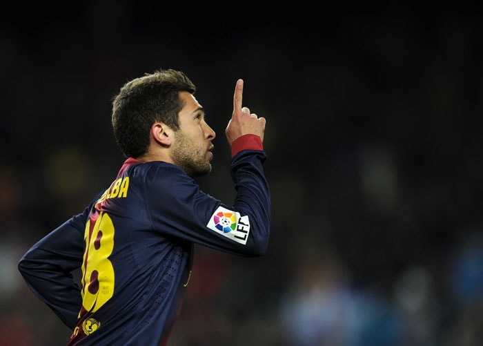 Jordi Alba pulled one back for Barca but it was 3-1 to Real Madrid as the enter the final of the Spanish Cup.