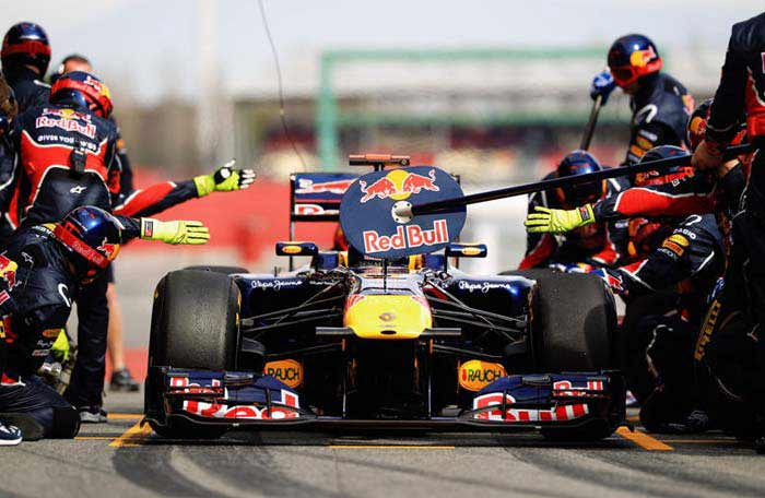 A title in only their sixth year of competition has greatly enhanced Red Bull's reputation and they have golden a chance to amplify it further. (Getty Images)