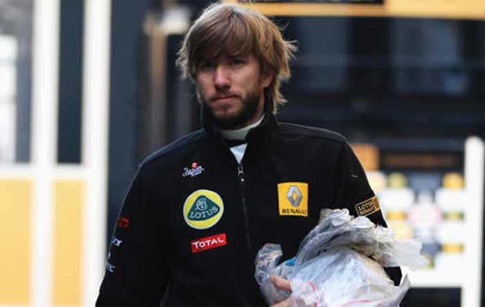 Without a team well into the new year, Heidfeld was lucky to get a race seat and will now look to make the most of the opportunity. (Getty Images)