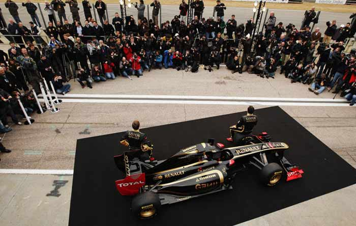 The R31 is what the re-branded Lotus Renault GP have placed their bets on. The expectations from the car, within the team, are high. (Getty Images)