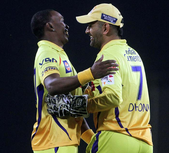 In the end it was not enough and Hyderabad ended at 190/7. So the win takes Chennai top the top of the table.