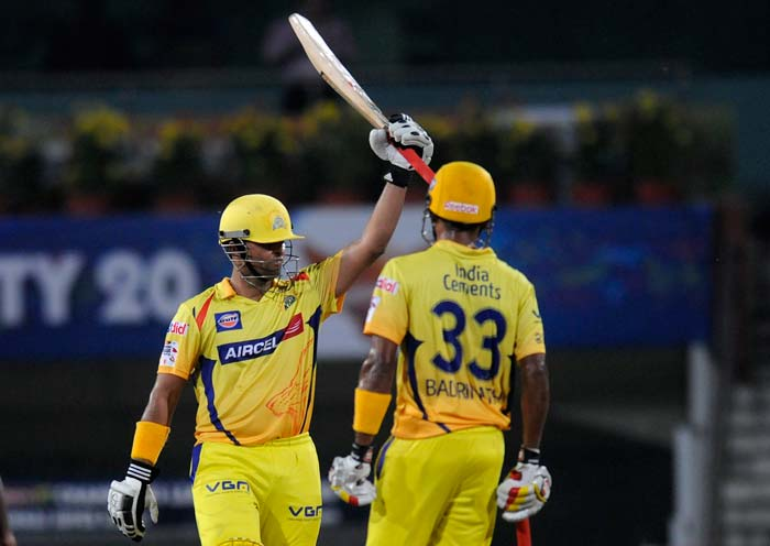 It was day when almost 400 runs were scored in 40 overs as Chennai and Hyderabad played out an exciting game in Ranchi. (All BCCI Photos)
