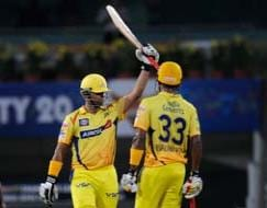 Photo : Chennai Super Kings narrowly defeat Sunrisers Hyderabad by 12 runs