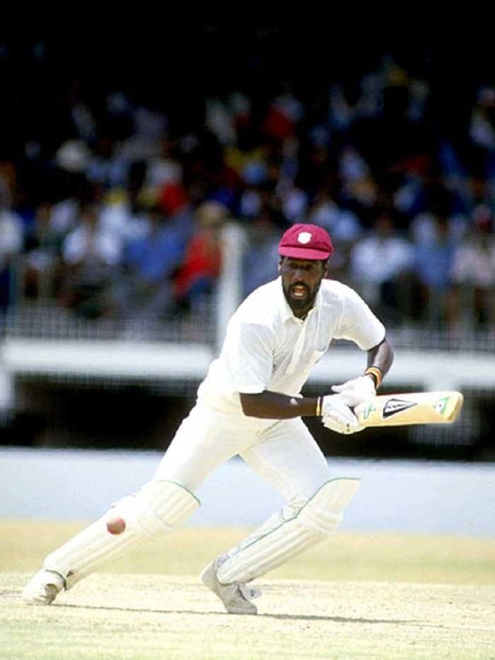 Vivian Richards first created an impact on the 1976 tour of England in which he was the highest run-getter with two double centuries.