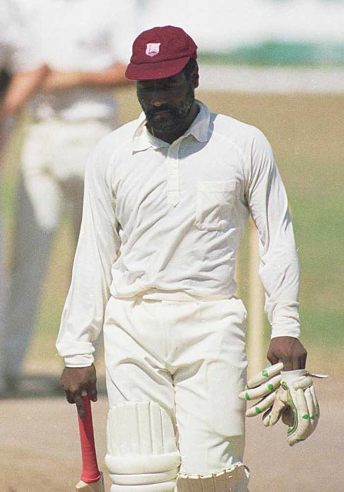Richards' form however, slipped in the second half of the 1980s. After a spell that tormented bowlers, Richards' career faced a downfall.