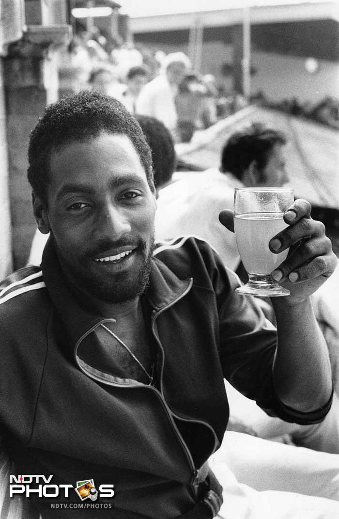 A real character off the field, Richards was a party lover and loved to relax in his time off.