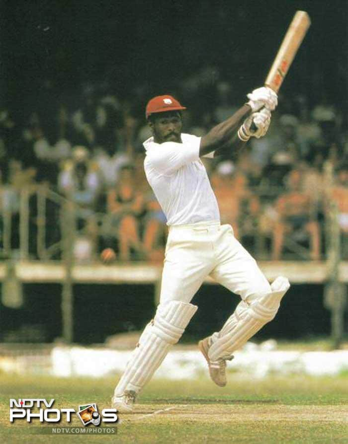 In the 1987 Reliance World Cup, Richards once again displayed his class but it wasn't enough to rescue his team from an opening round exit. With 181 runs against Sri Lanka he became the first batsman to have two scores of 180 plus in one day internationals, a record he held for 23 years.