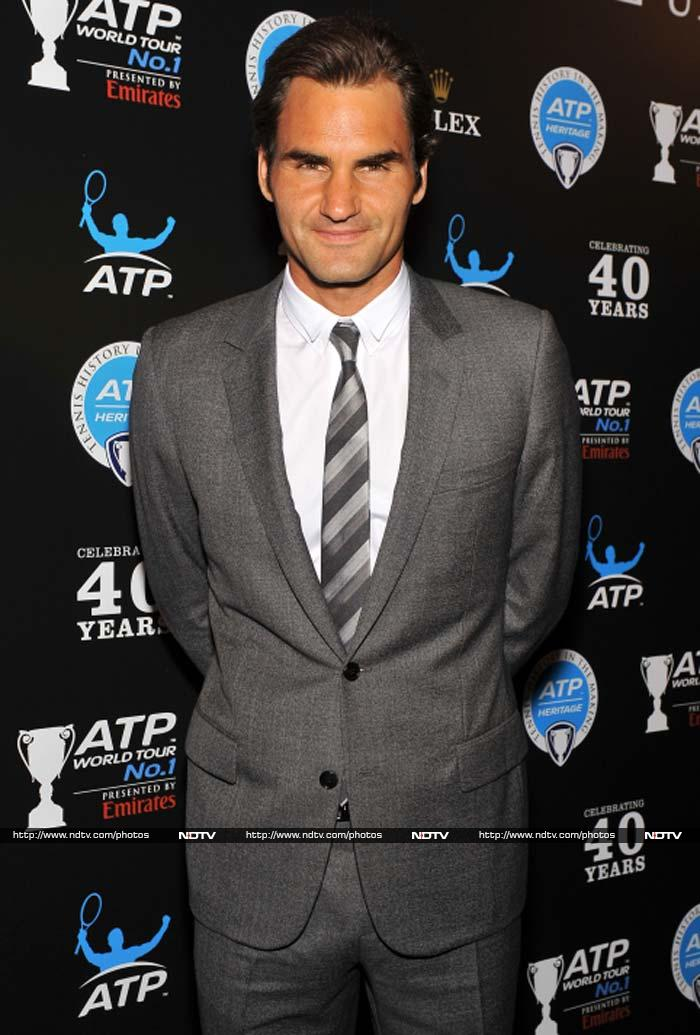 As talks of Roger Federer being past his prime are heard from isolated corners of the tennis world, the man himself seems determined to remain the king on and off the court.<br><br> Take a look...<br><br> Images courtesy: AFP and AP