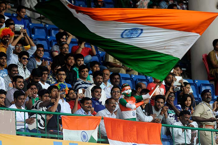 As the excitement built on a festive weekend in India, fans in Bangalore knew they were in for a treat. (BCCI image)