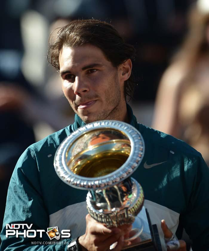 Nadal beat Federer 6-1 6-3 to win his seventh Rome Masters title - a perfect tune-up for the French Open.
