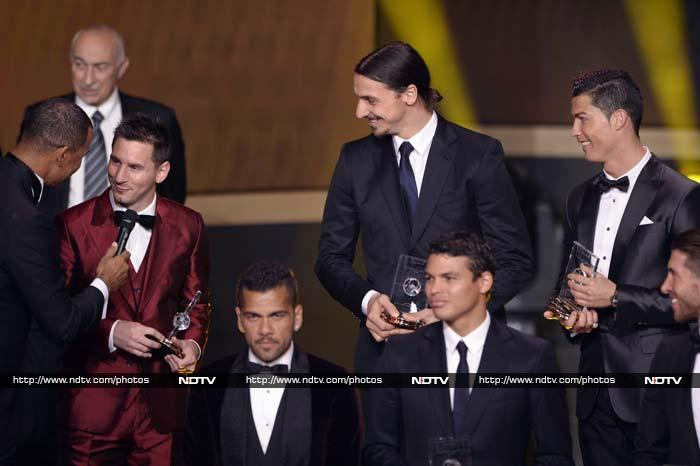 Voting was done by national team captains and coaches, plus selected journalists, in FIFA's 209 member countries.