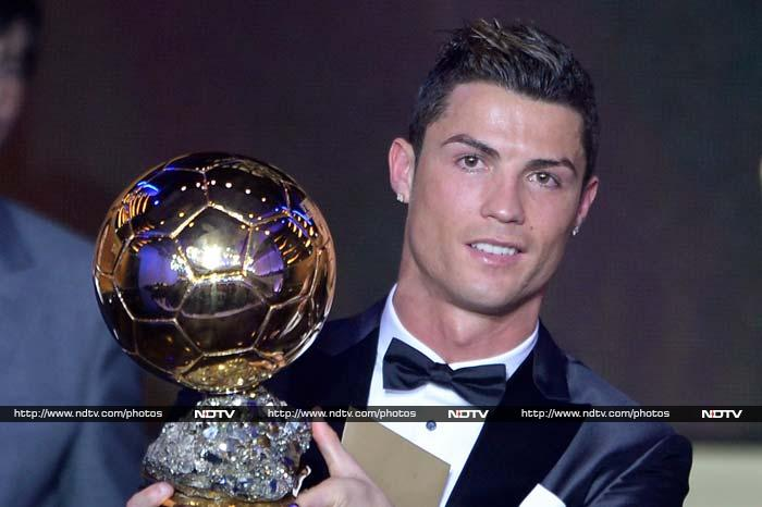 Cristiano Ronaldo has won the FIFA Ballon d'Or award for 2013, ending Lionel Messi's four-year run as the world's best player. <br><br> All images courtesy AFP