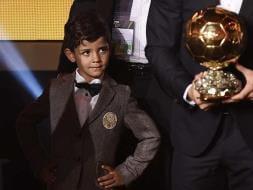 Father Ronaldo Wins Ballon d'Or, Son Ronaldo Wins Hearts!