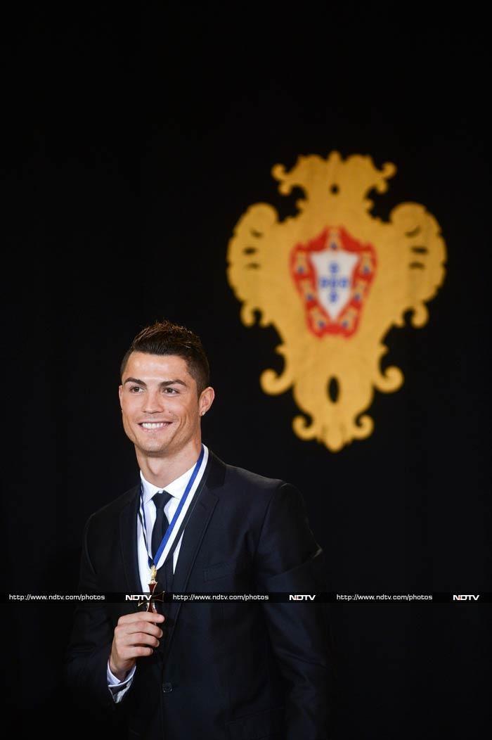 Ronaldo ended Lionel Messi's streak of winning Ballon d'Or, recently.