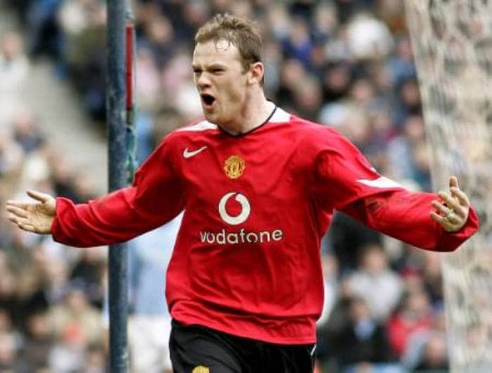 Wayne Rooney 2004 Gallery Wayne Rooney turns football Photo Gallery