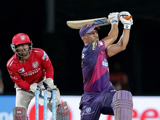 IPL: MS Dhoni Helps RPS Finish Seventh With Win Over KXIP | cricket ...