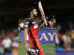 Photo : IPL: Virat Kohli Slams Second Ton as RCB Beat RPS