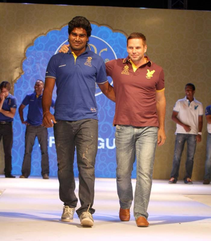 Rahul Shukla and Bradley Hodge looks shy but confident while walking the ramp