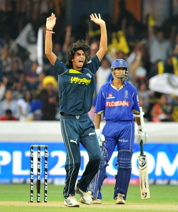 Ishan Sharma too returned to action and opened the bowling with Dale Steyn. He looked in good form and fitness. (AFP Photo)