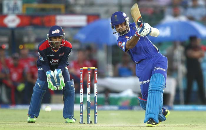Dravid had good support from Ajinkya Rahane and the two had a 108-run stand for the opening wicket. (BCCI image)
