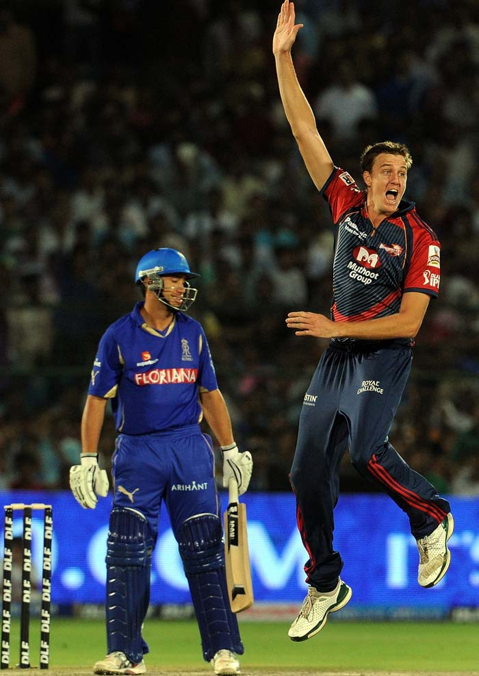 Morne Morkel at the other end too, bowled with a lot of intensity although a wicket towards the end is all that he could show for his spirited efforts. (AFP Photo)
