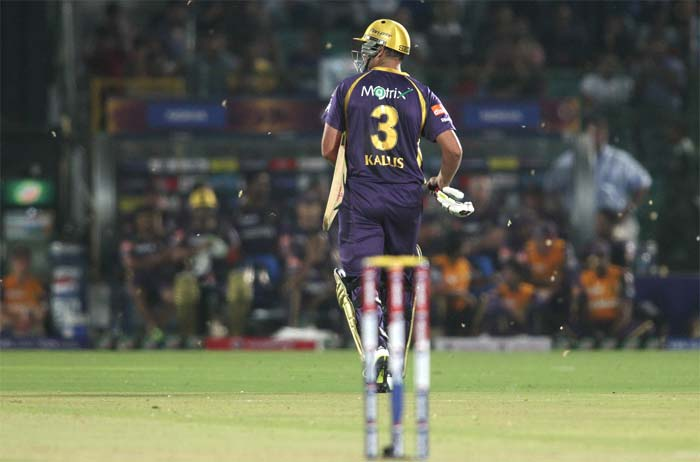 Veteran Jacques Kallis too fell early to give the advantage to the hosts. (BCCI image)