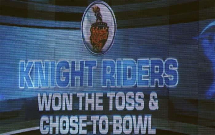 Kolkata's start was auspicious as skipper Gautam Gambhir won the toss and chose to field. (BCCI image)