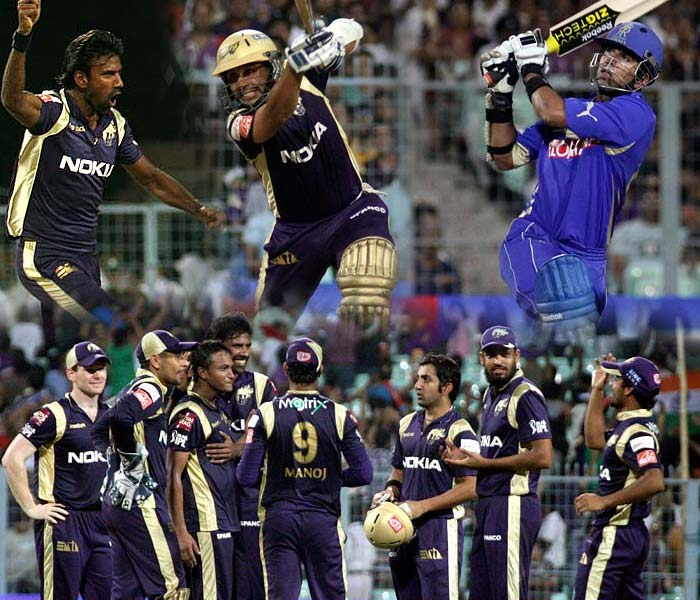 Kolkata Knight Riders continued their winning ways as they defeated the Rajasthan Royals by 8 wickets for their third straight victory, on Sunday. (AFP Photos)