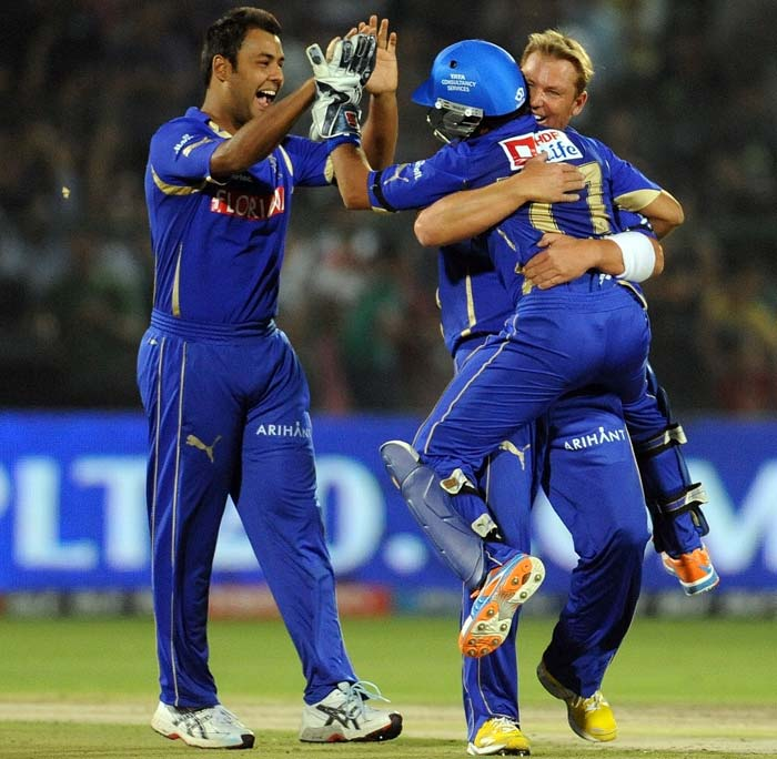 It was Warne who took the responsibility of breaking the partnership upon himself and removed both Parthiv and Jadeja of consecutive deliveries.