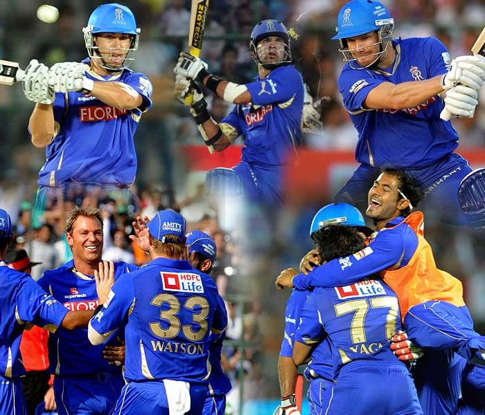 Pune looked to end their string of defeats at the fortress. The Royals however, were not going to be an easy side to topple at home as Yuvraj Singh and his team found out eventually. A look at the day's play. (AFP Photos)