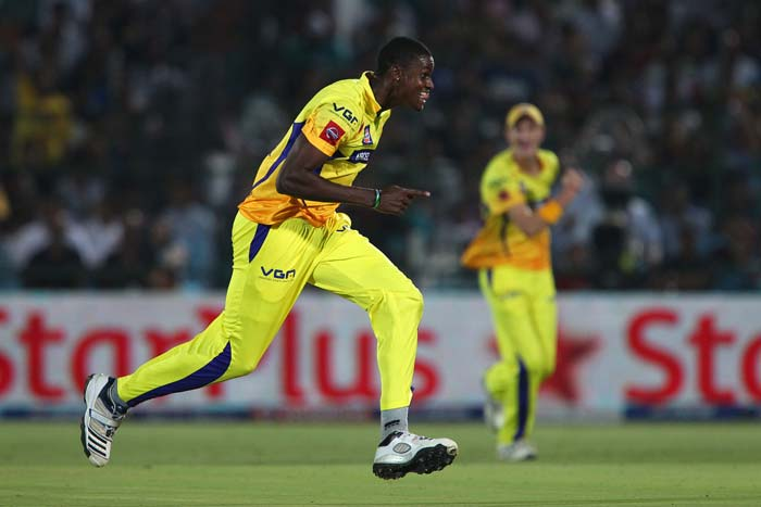 Jason Holder made the early inroads for Chennai removing Ajinkya Rahane and James Faulkner. (BCCI Image)