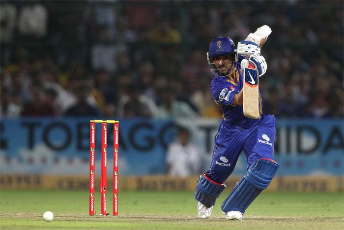 But Ajinkya Rahane had other plans as he notched up his 16th T20 fifty - third in-a-row - to lead Rajasthan Royals to a strong total. He scored 70.