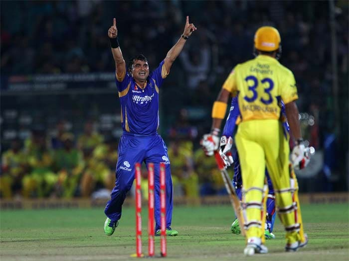 But the day belonged to Rajasthan Royals and Pravin Tambe. He picked up wickets a regular intervals and finished with 3/10 to bag the Man of the Match award. CSK could only manage 145/8.