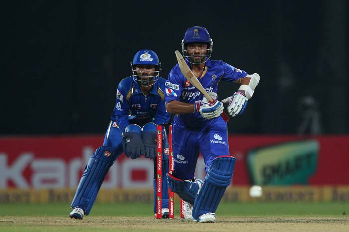 Ajinkya Rahane scored his fourth consecutive fifty to become the first batsman to hit four half-centuries in one edition. He also bagged the Golden Bat award.