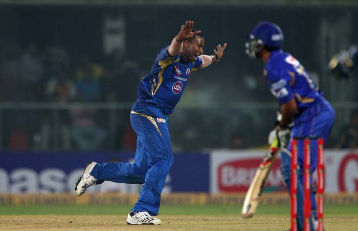 Kieron Pollard picked up the last three wickets - one over - to finish the game in style. Mumbai Indians took the title with a 33-run win over Rajasthan Royals.